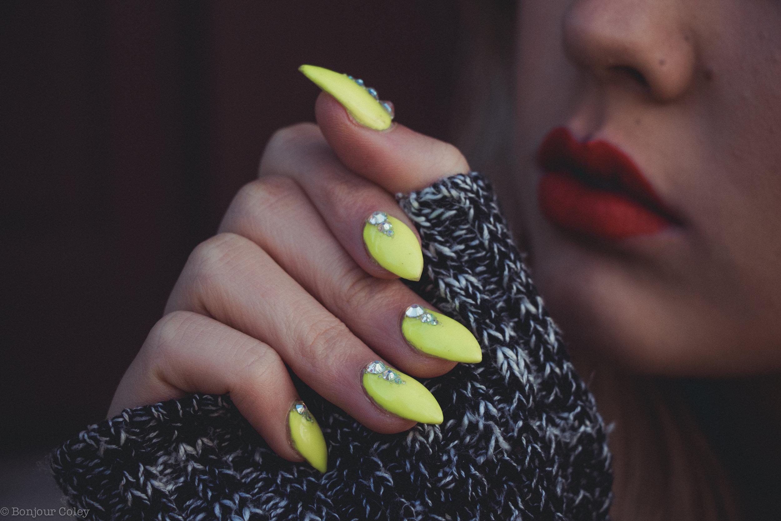 Stiletto Nails Classy Claws Ssssamanthaa BatALash Ravandahl
