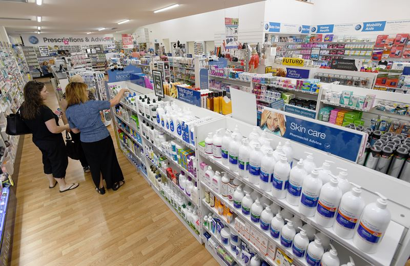 Huge shop floor and range of products