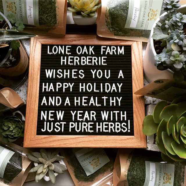 Wishing all Herb Lovers and Lone Oak Farm supporters a wonderful holiday season, a merry Xmas and lots of healthy herbal teas for perfect after-dinner digestion 😊🌿#happyholidays #herbalteas #afterdinnertea🍃 #xmasdinner #farmholidays #herbalist #farmtocup #dutchesscounty #hudsonvalleyfarms #madeinny #withlove
