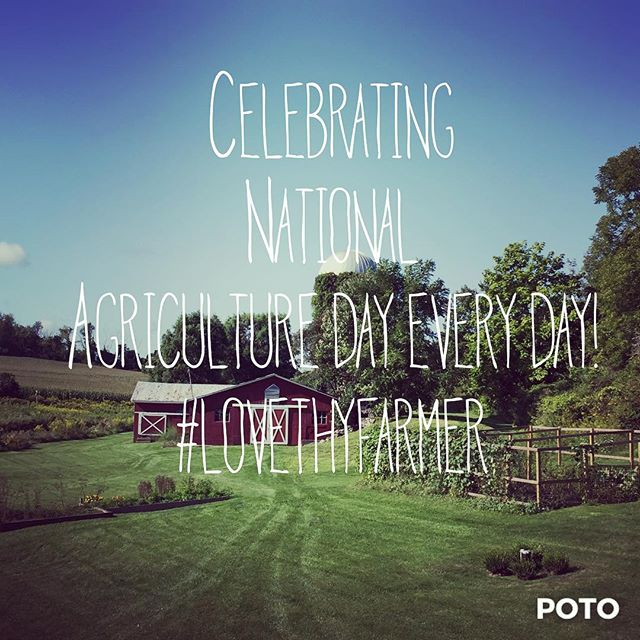 Celebrating National AG day today and everyday! #nationalagricultureday #lovethyfarmer #agriculturebio  #farmeradventures #localfarms #newyorkag