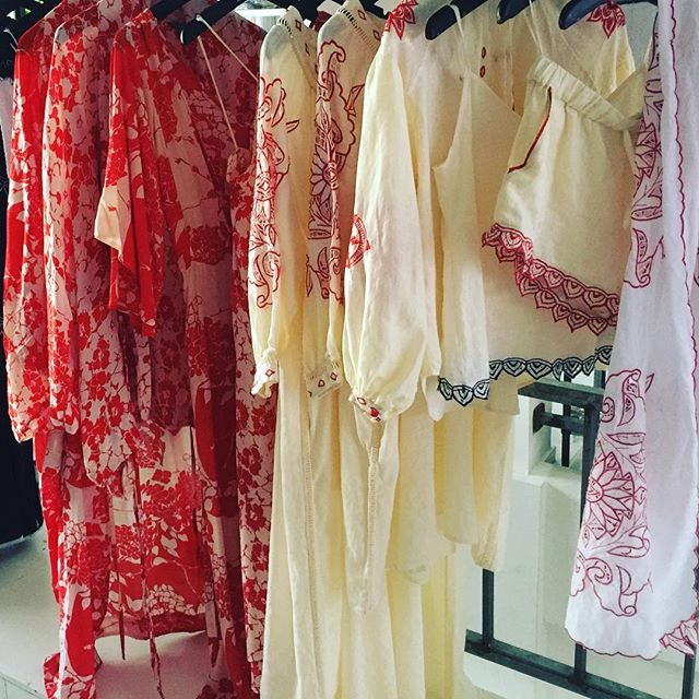 Cherry and Butter #edibles #resort #resortwear #linen #silk #cotton #embroidery #handmade #slowfashion #goddess #deluxe @comohotels