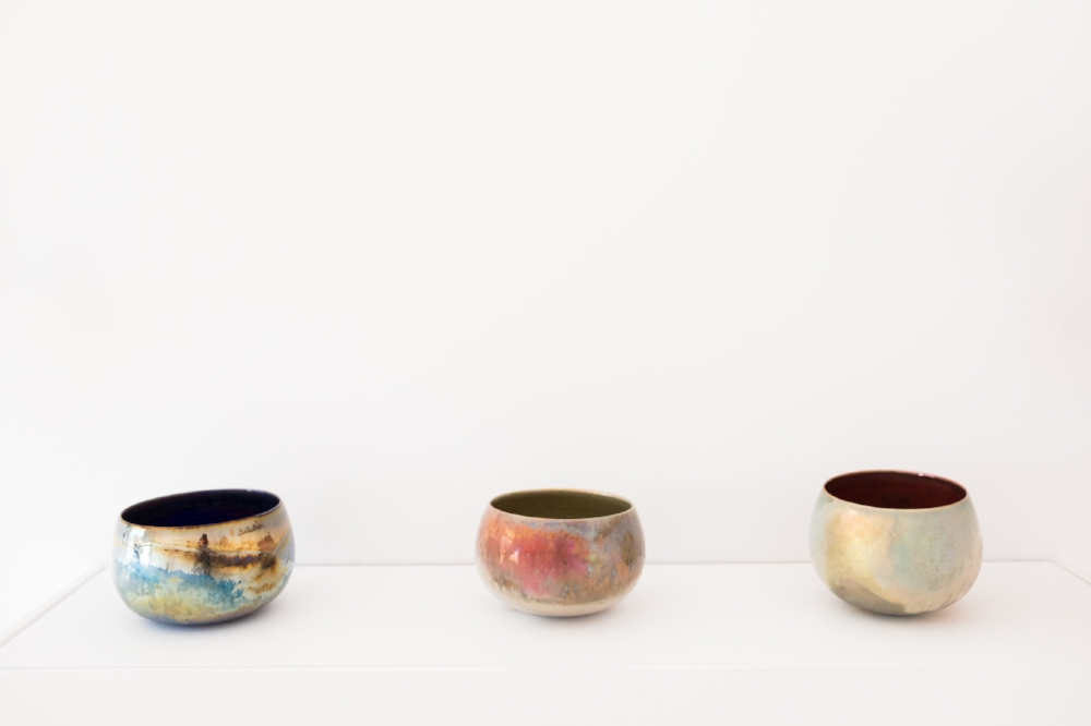 greg daly | lustre glazed bowls