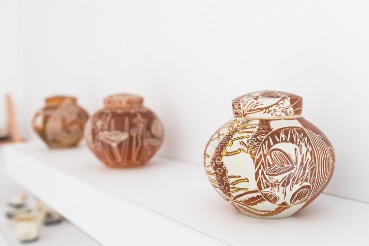 janet deboos | hybrid lidded jars