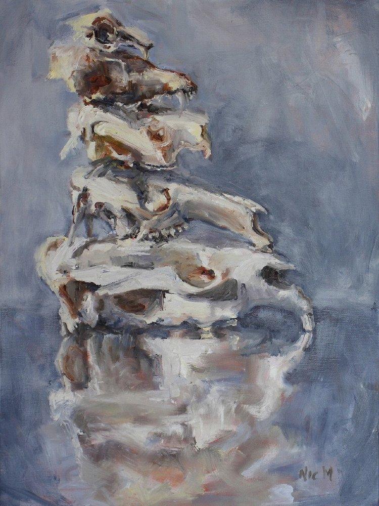 3+mason+nic_rabbit+fox+koala+eastern+grey+kangaroo+and+wombat_2016_45x60cm_oil+on+canvas_reduced+for+catalogue.jpg