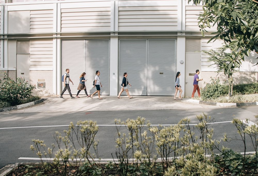Fig 1. The road to heat resilient Singapore  / Source: Lina Meisen Photography 2018