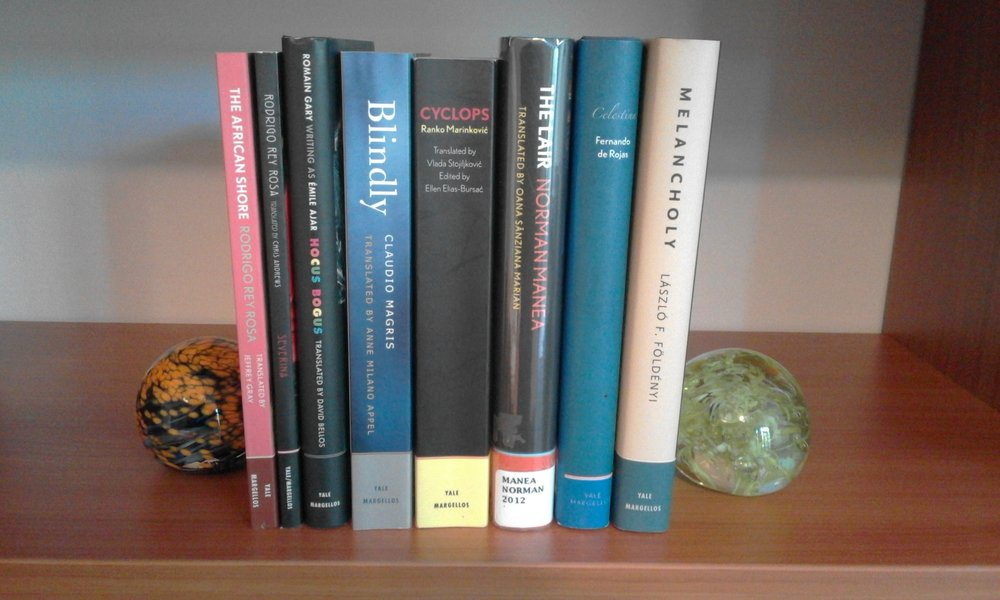 My small collection of Margellos books.