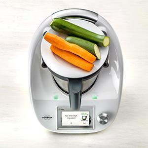 Groenten wegen met Thermomix