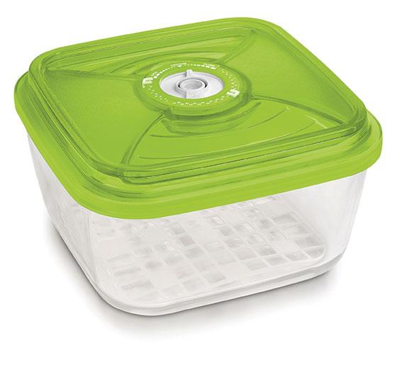 Glazen pot (vierkant, 3.5L, €79)