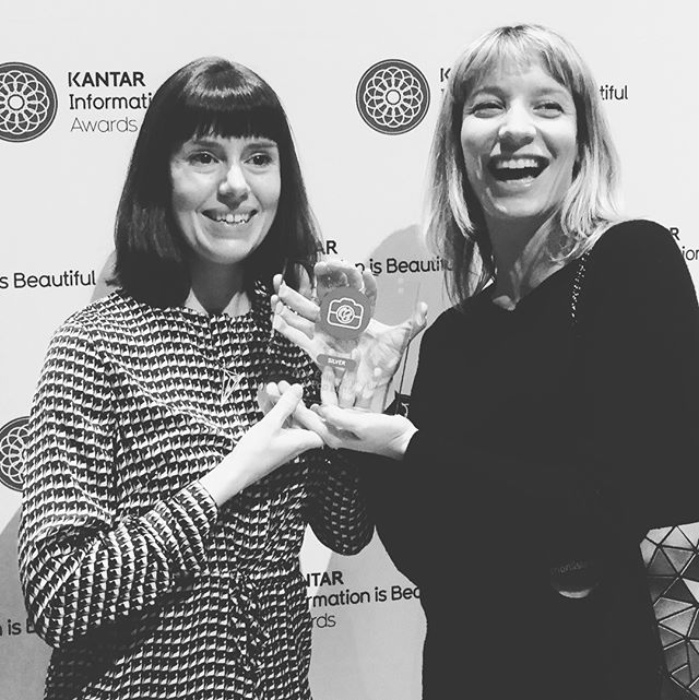 Happy, honoured and proud! Thanks @infobeautiful for the amazing award!  #iibawards #iib #oddityviz #spaceoddity #davidbowie #tribute #music #data #deconstruction #design #art #datasculpturemusic #datasculptures #dataviz #informationdesign #informationisbeautiful #designawards #collaboration