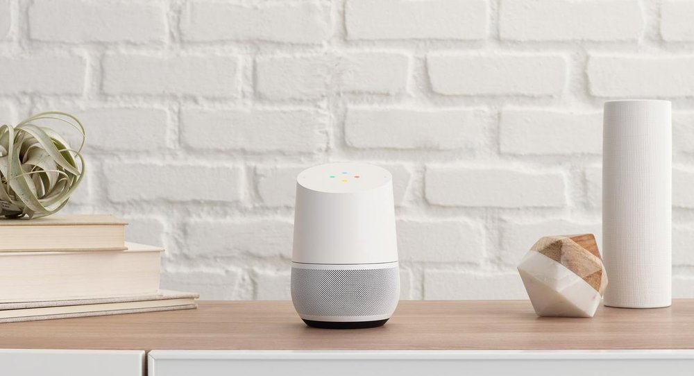 Google Home AI imagine a new home - imagine a lady