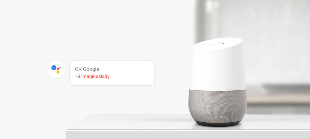 imagine-a-lady-google-home-ok-google