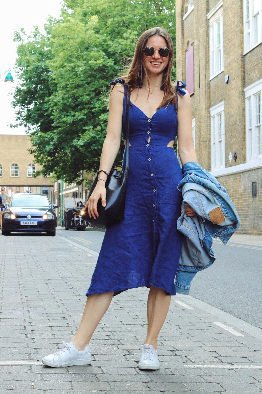 Emma_Denim dress