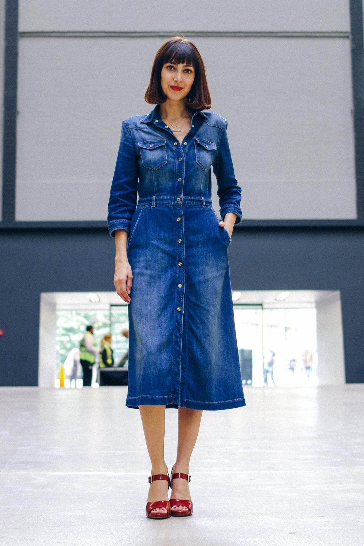 33artdeco_Denim dress