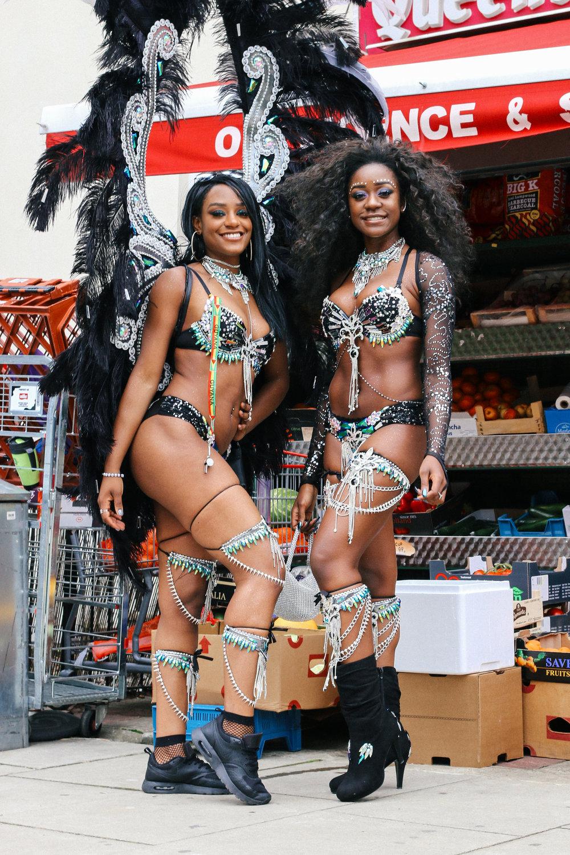 Amanda&Shavana at the carnival