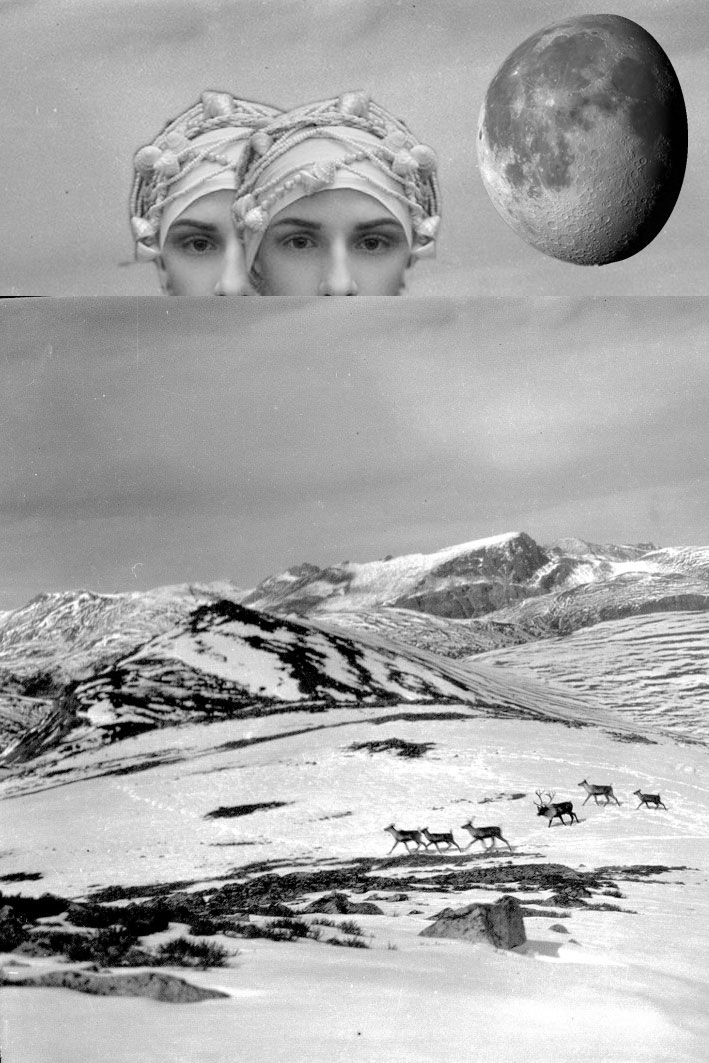Geniebottle, 2016 -Digital collage