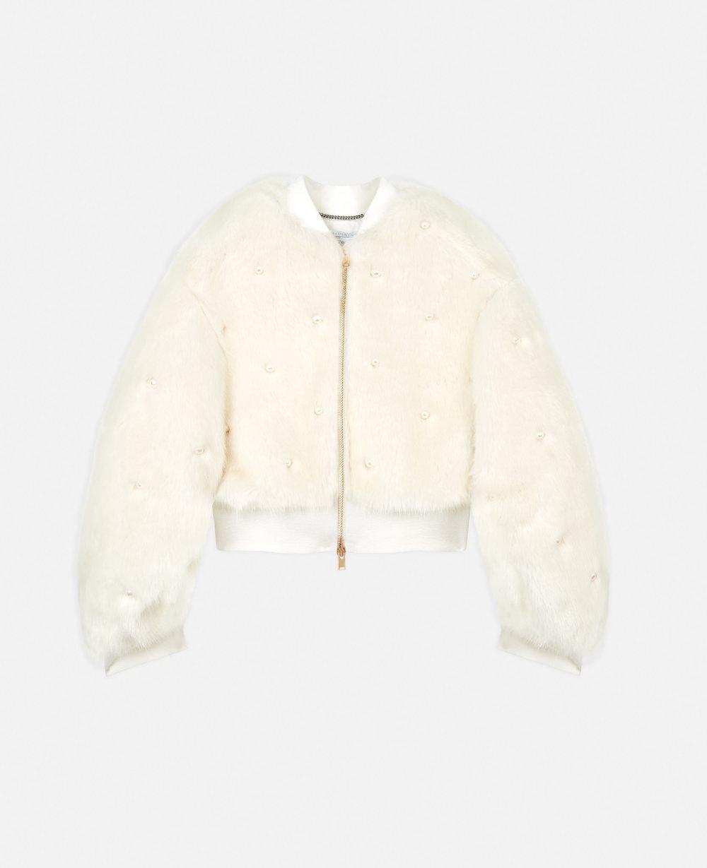 Fur Free Fur Bomber Jacket