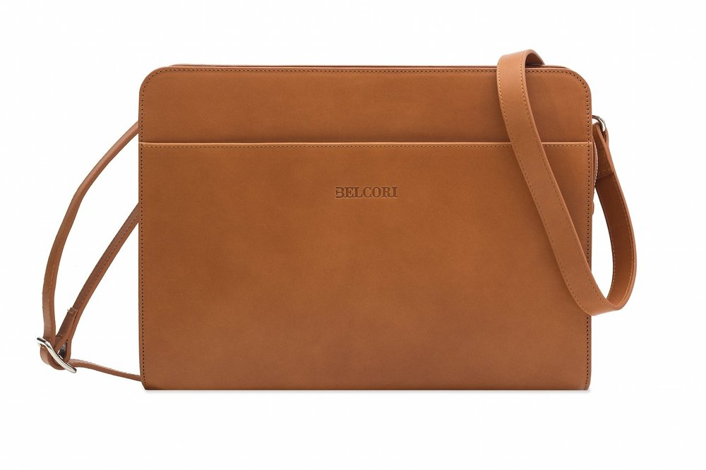 Ultra-premium Belcouro eco-leather, vegetable tanned, allergy-free & biodegradable