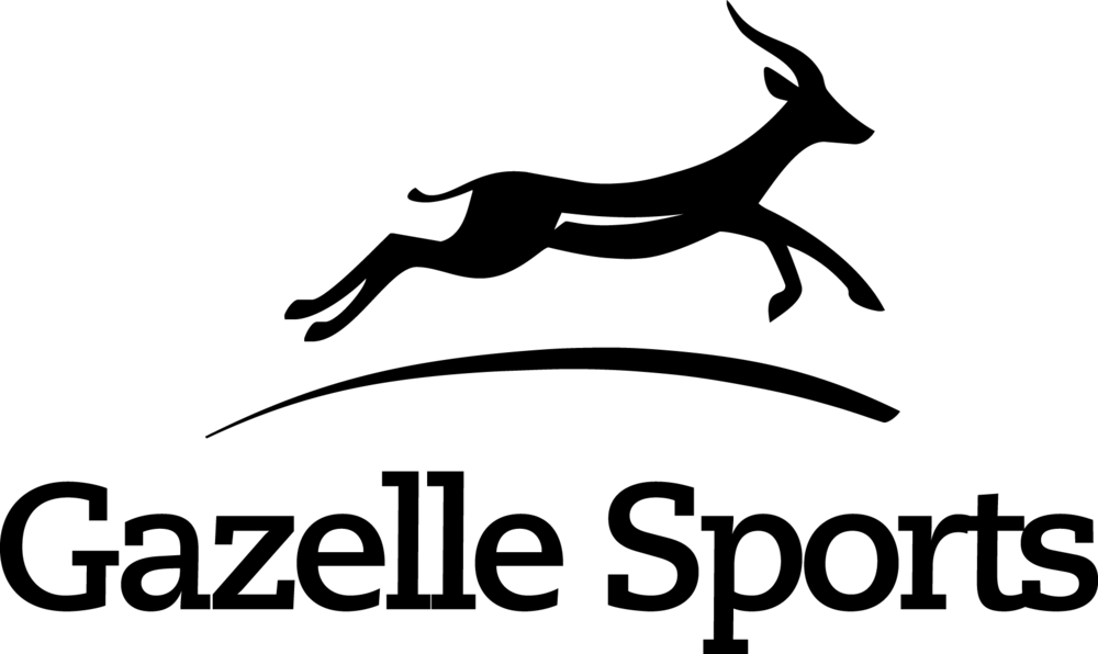 2009 Gazelle Sports logo Black.png