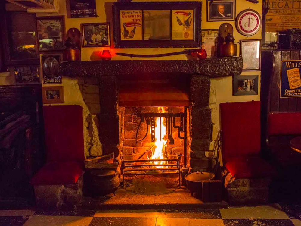 A pint in Sean's Bar Athlone.