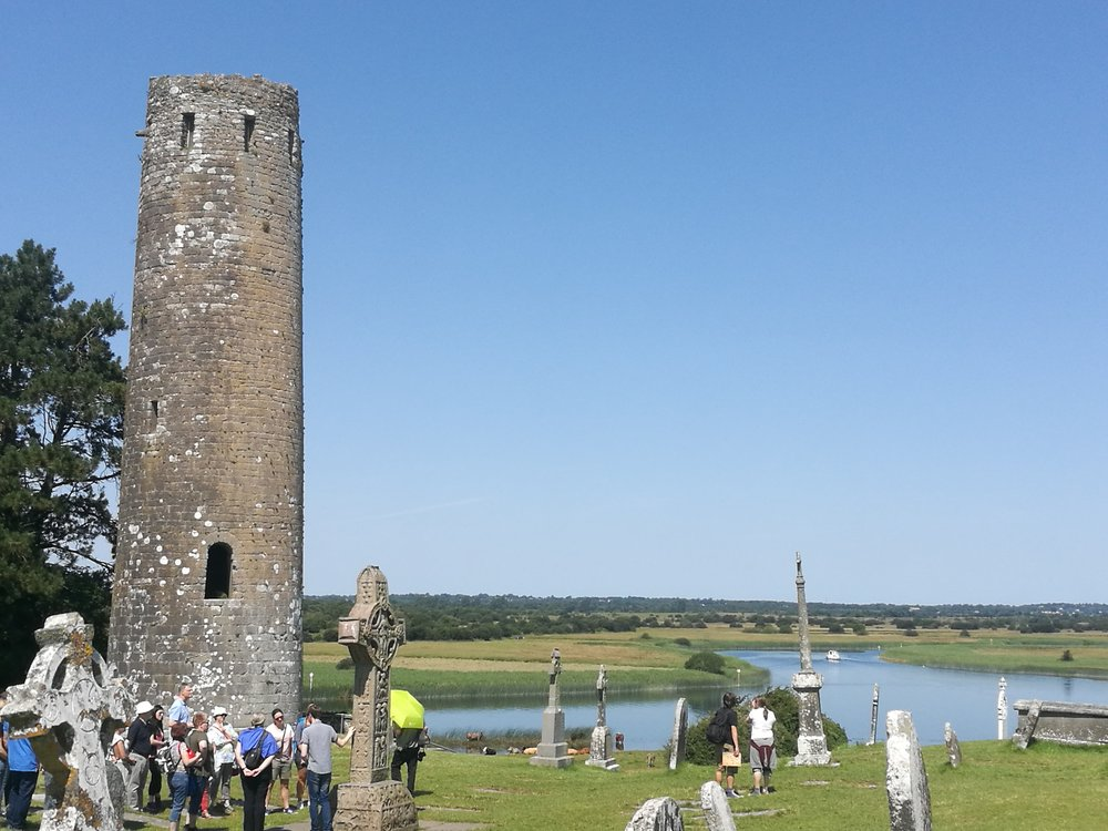 Clonmacnoise always a place to visit with your boat along the River Shannon