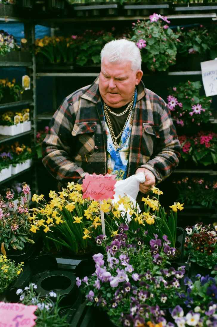 Columbia Road Flower Market, 2016.