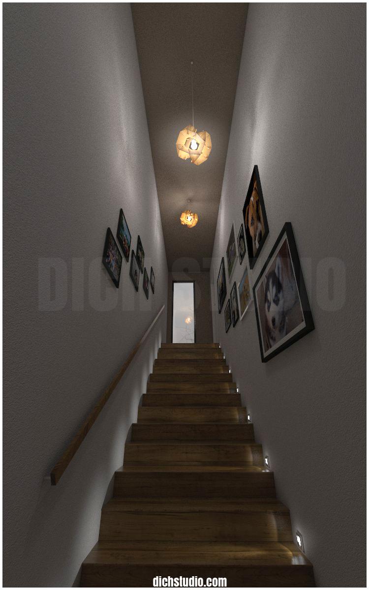 Дизайн стълбище - визуализация