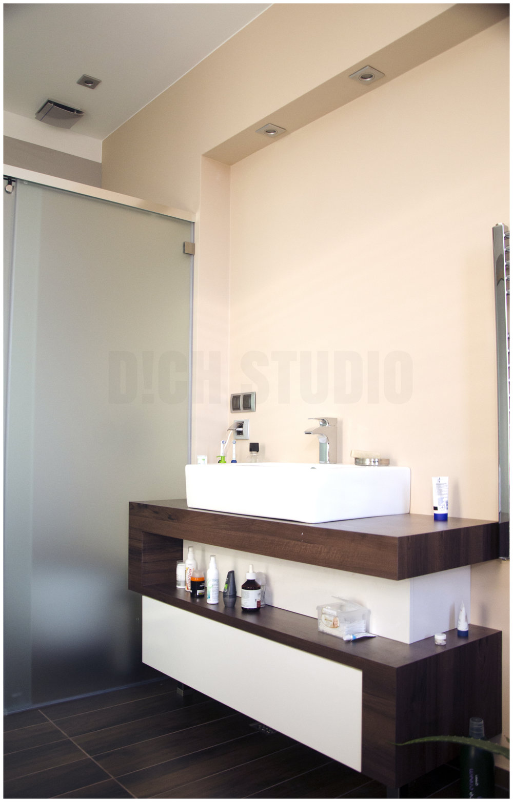Photo, master bathroom, house near Varna