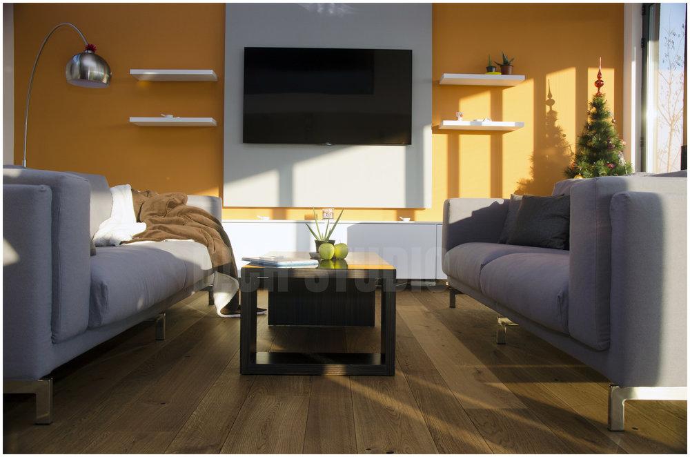 Дневна тв сет и мебел