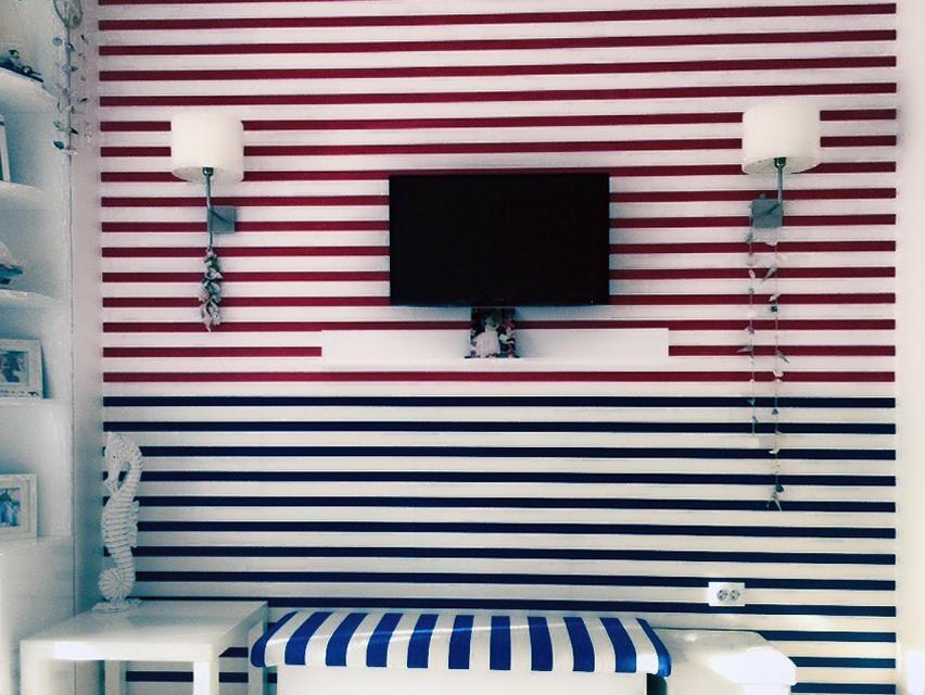 Тапет в цвят за детска стая, Витоша, София