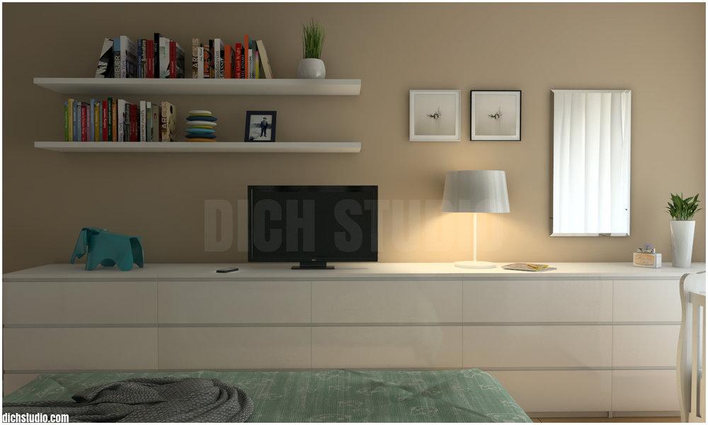 Спалня вариант визуализация Овча Купел