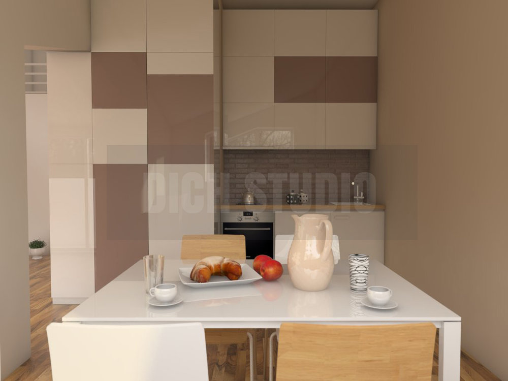 Interior design kitchen, Vratsa