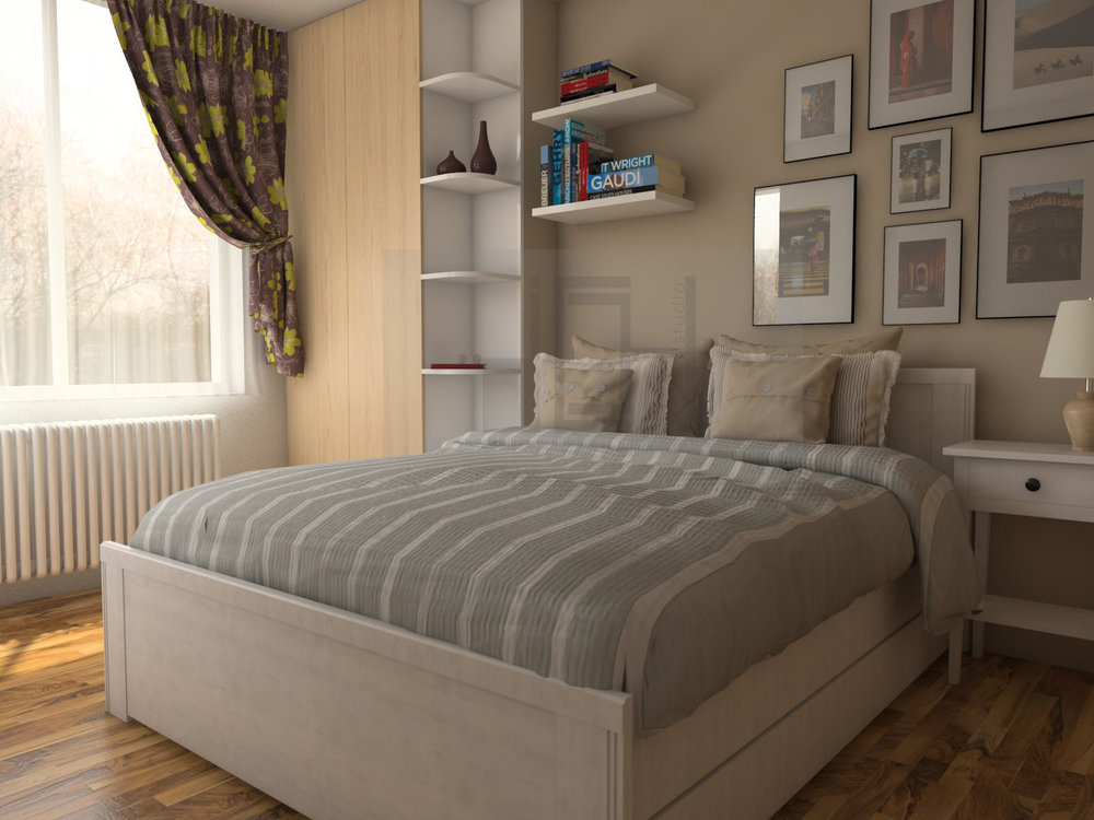 Интериорен дизайн на спалня, Враца