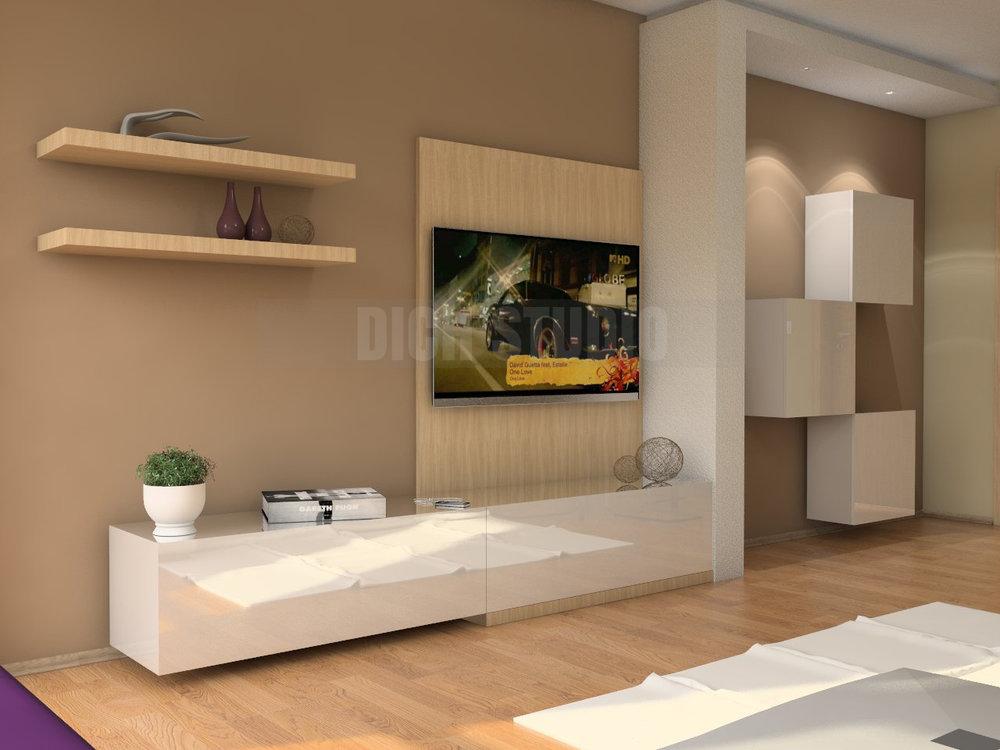 Tv set living room, Reduta, Sofia