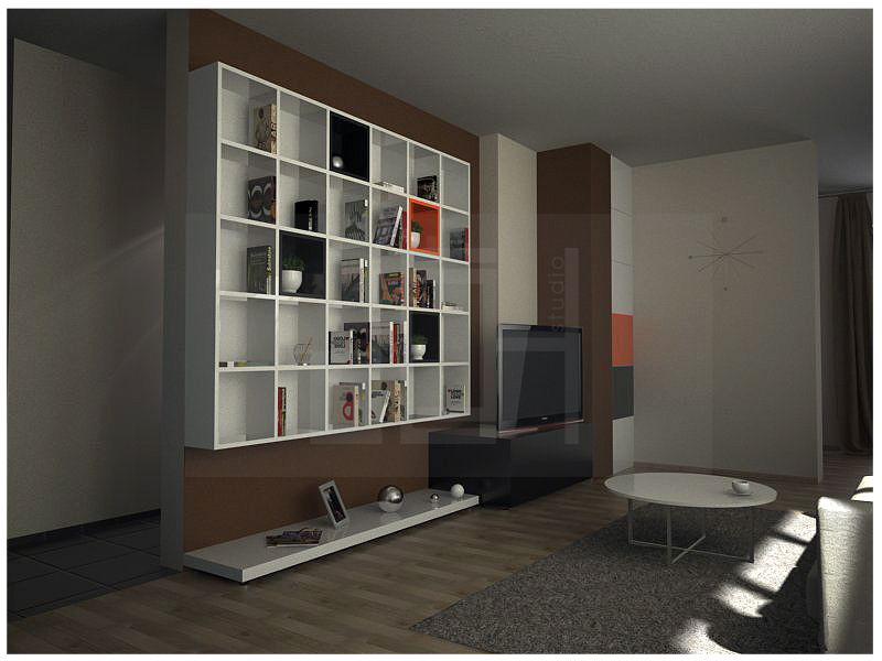 Tv set idea interior design, Sofia
