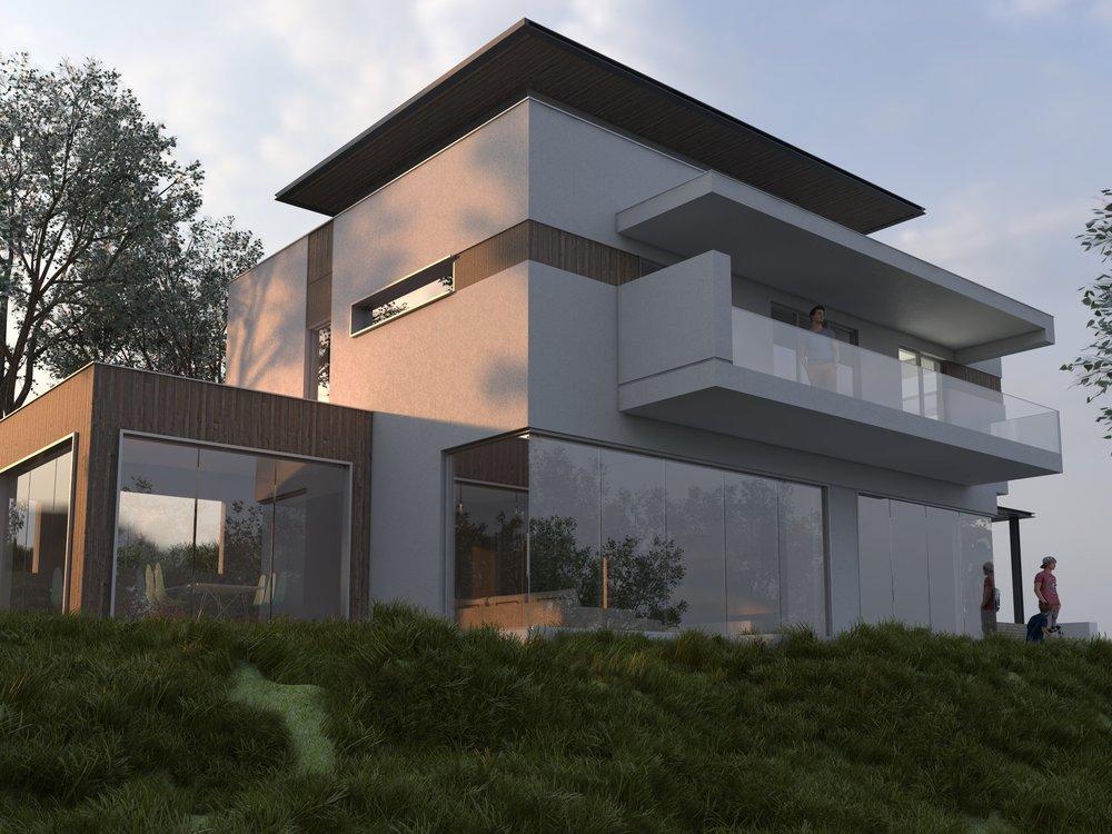 Визуализация на къща край Варна