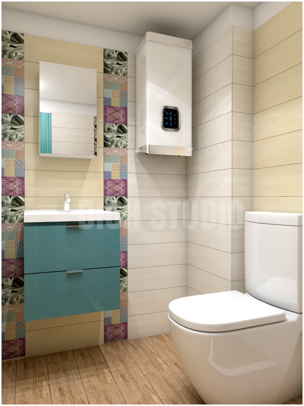 Bathroom color Varna