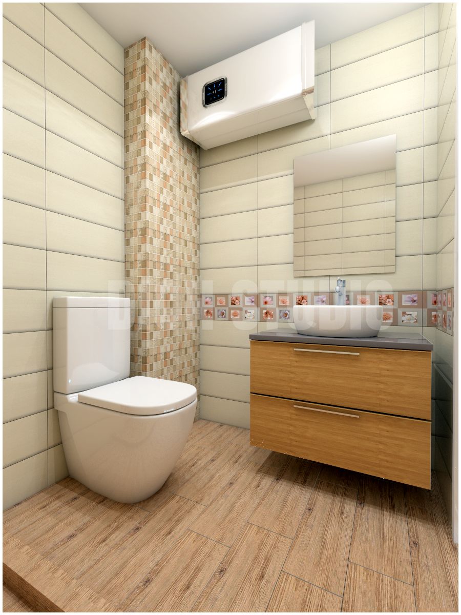 Bathroom color Varna floral