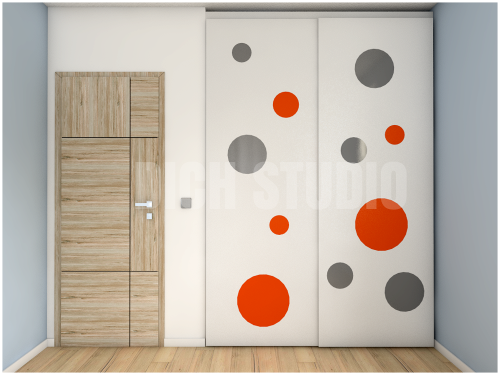 Children room color wardrobe Varna