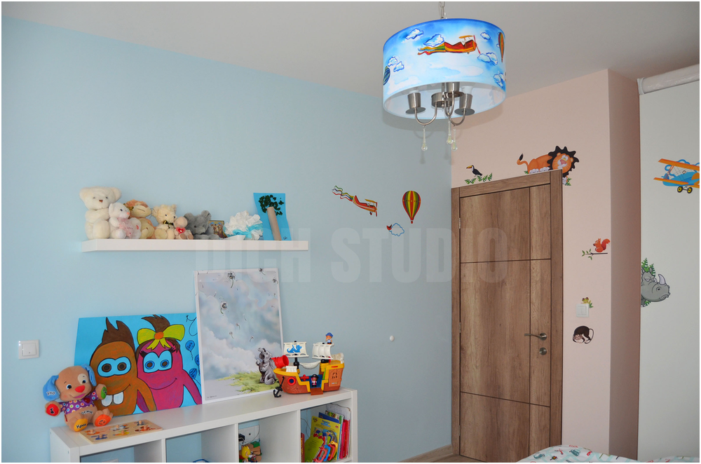 Children room blue Varna