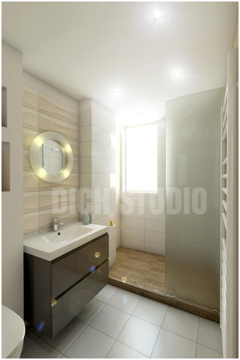 Interior design bathroom Vratsa