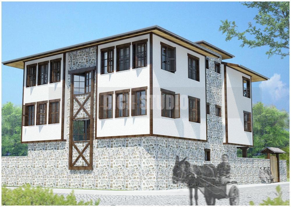 къща за гости - визуализация