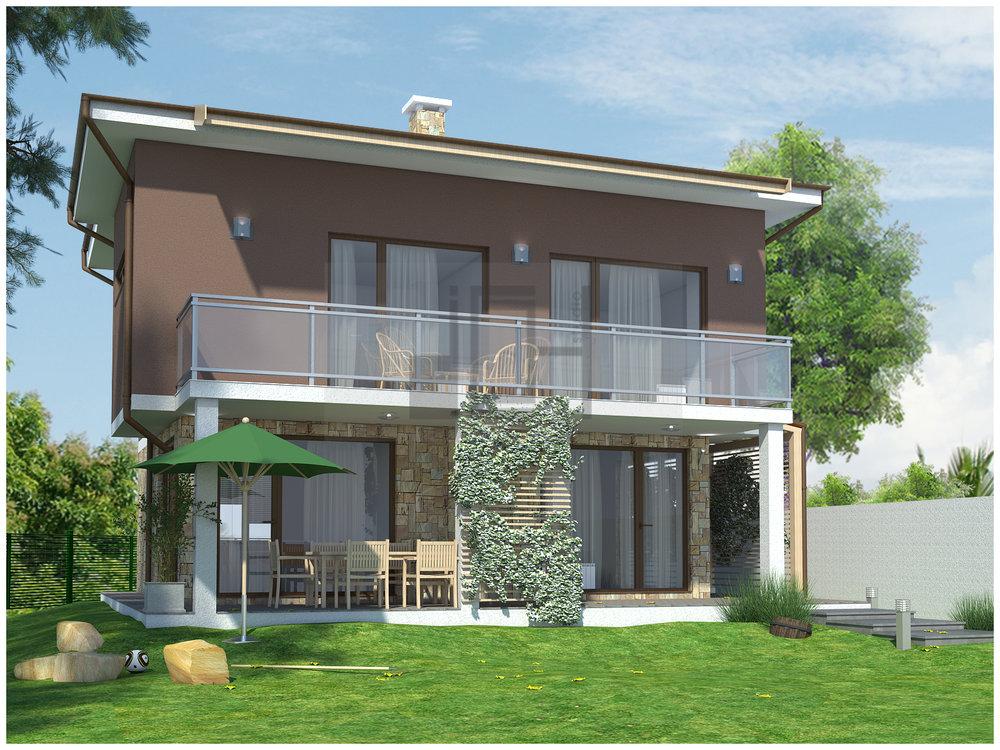 визуализация на еднофамилна къща