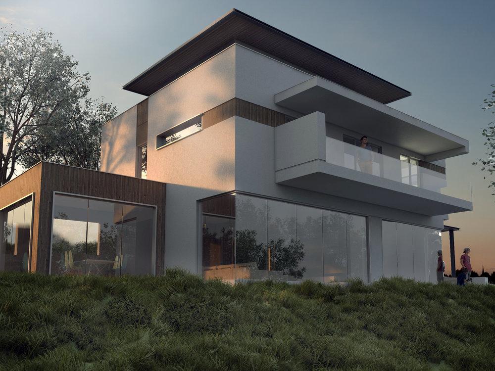 изглед на еднофамилна къща, Варна