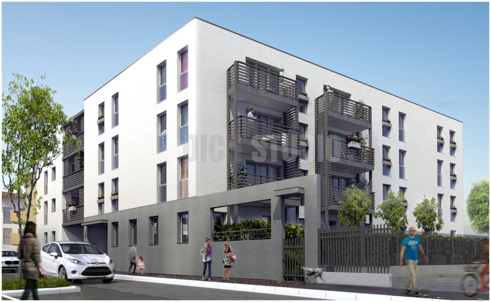 Residential building, Vaulx-en-Velin, Lyon