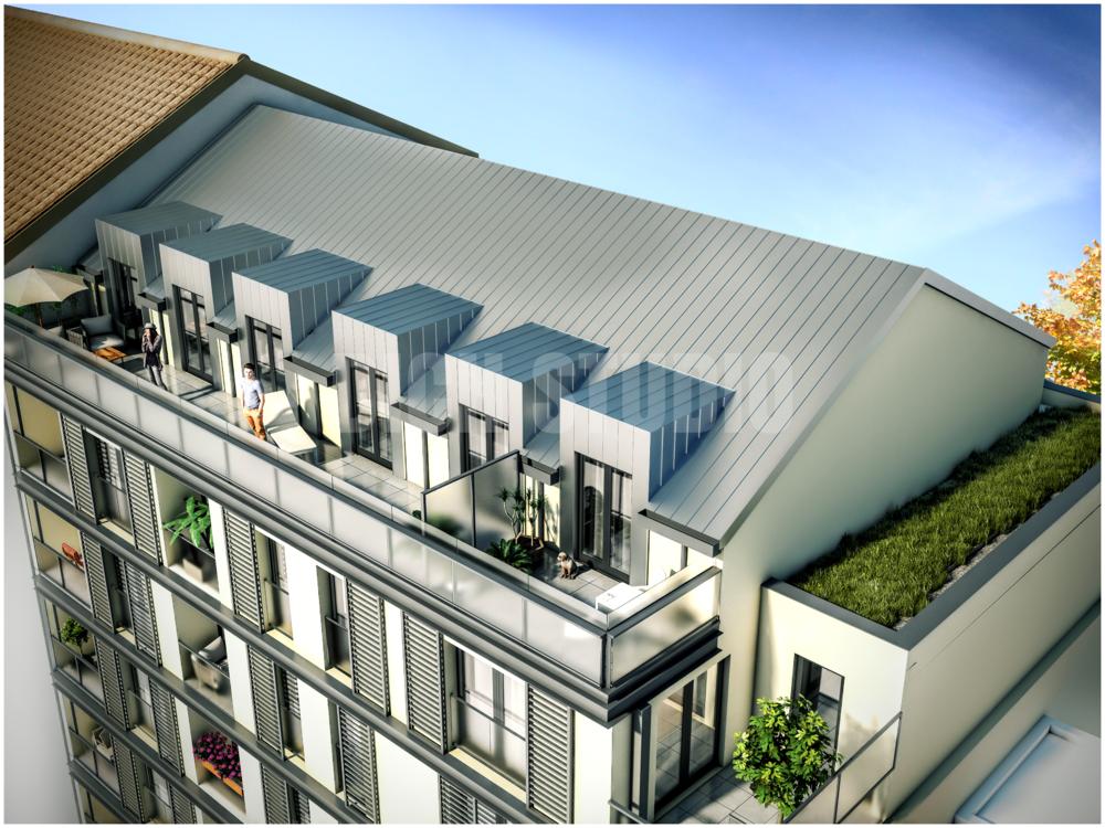 Residential building, Aix-les-Bains