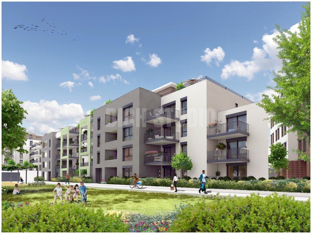 Residential building, Saint-Etienne