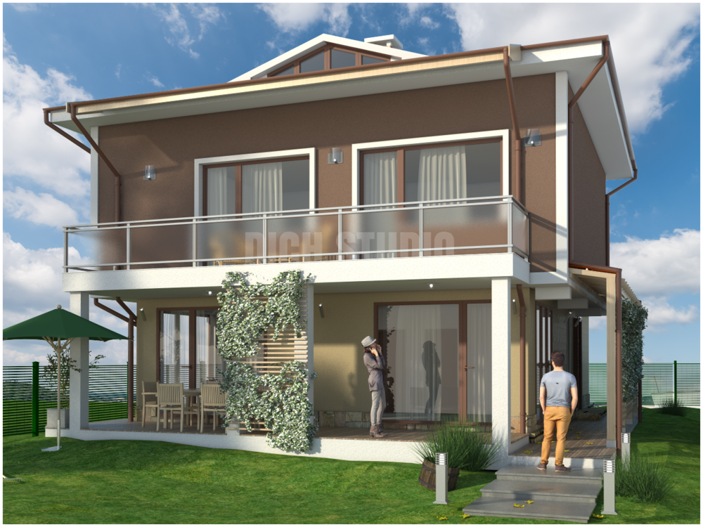 Family house design Sofia, architecture