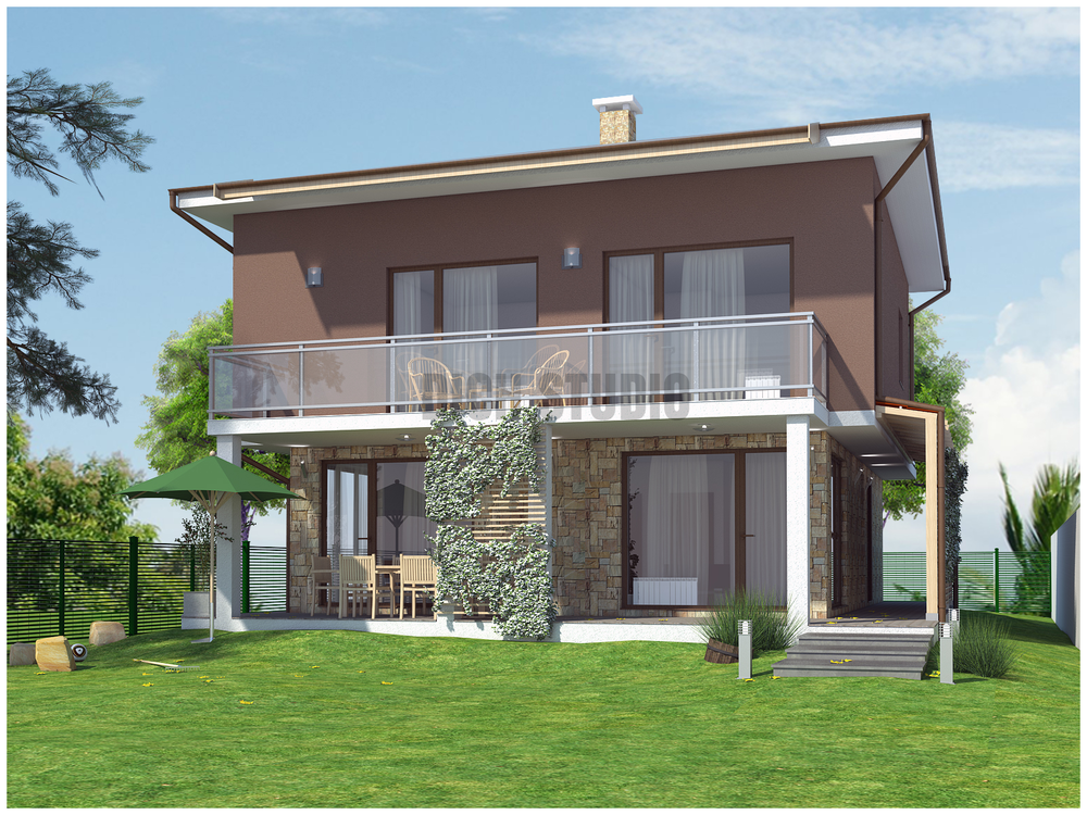 Architecture house design Sofia