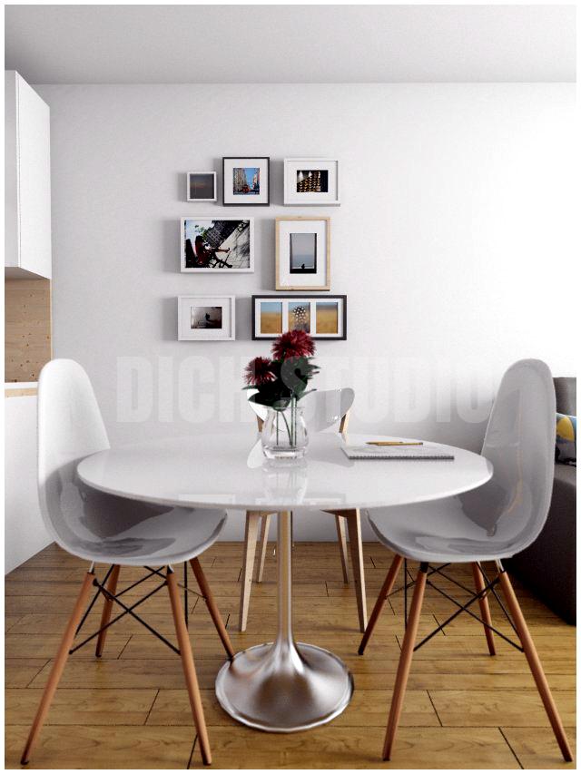 Dinning room interior design Vitosha Sofia