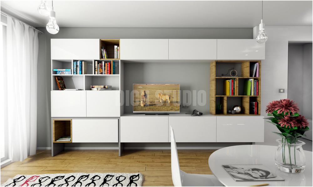 Living room design Vitosha Sofia